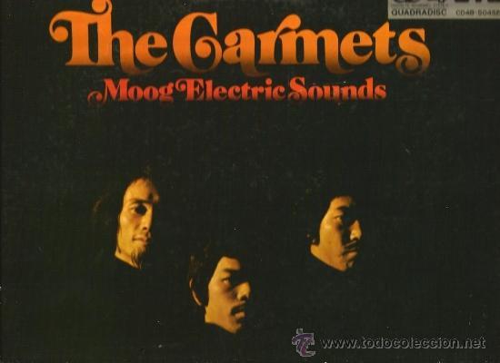 THE GARMETS : MOOG ELECTRIC SOUNDS (EDICION JAPONESA ) QUADRADISC (Música - Discos - LP Vinilo - Electrónica, Avantgarde y Experimental)
