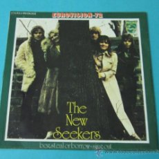 Discos de vinilo: THE NEW SEEKERS. BEG, STEAL OR BORROW. SING OUT. PHILIPS. Lote 34792398