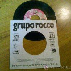 Discos de vinilo: GRUPO ROCCO..HIP HOUSE. Lote 34849011
