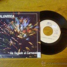 Discos de vinilo: SALSARRICA HA LLEGADO EL CARNAVAL..GRUPO CANARARIO.. Lote 34849988