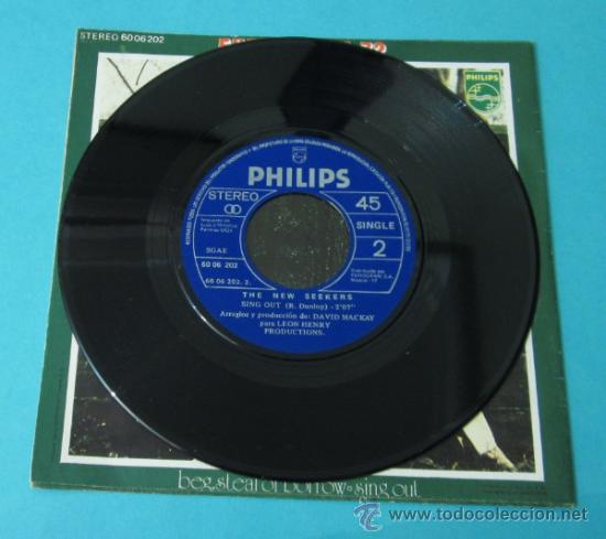 Discos de vinilo: THE NEW SEEKERS. BEG, STEAL OR BORROW. SING OUT. PHILIPS - Foto 2 - 34792398
