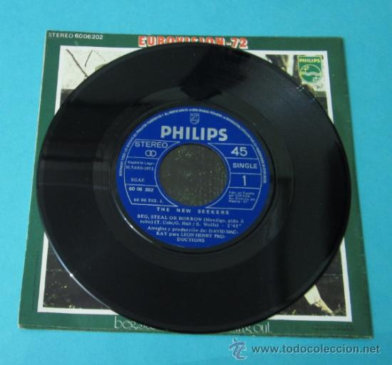 Discos de vinilo: THE NEW SEEKERS. BEG, STEAL OR BORROW. SING OUT. PHILIPS - Foto 3 - 34792398