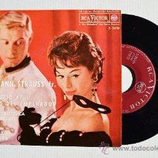 Discos de vinilo: VIENA - JOHANN STRAUSS FRITZ REINER ORQ. SINF. DE CHICAGO ¡¡NUEVO!! (RCA EP 1962) ESPAÑA. Lote 34804931