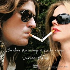 Discos de vinilo: LP NACHO VEGAS CHRISTINA ROSENVINGE VERANO FATAL VINILO. Lote 54939873