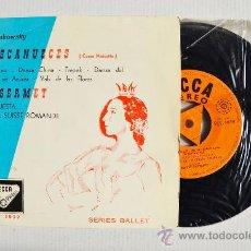 Disques de vinyle: CASCANUECES-TCHAIKOWSKY ERNEST ANSERMET/ORQ. SUISSE ROMANDE ¡¡NUEVO!! (DECCA EP 1960) ESPAÑA. Lote 34812240