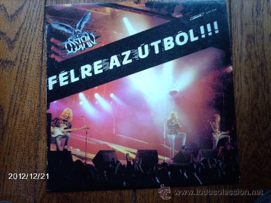 OSSIAN - FELRE AZ UTBOL !!! (Música - Discos - LP Vinilo - Heavy - Metal)