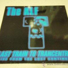 Discos de vinilo: THE KLF ( LAST TRAIN TO TRANCENTRAL 3 VERSIONES ) 1991-GERMANY MAXI45 COMA RECORDS. Lote 34843036