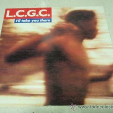 Discos de vinilo: L.C.G.C. ( I'LL TAKE YOU THERE ) THE DANCE MONKEY MIX + THE ORIGINAL 7' MIX + THE MONKEY UNDERGROUN. Lote 34844901