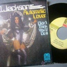Discos de vinilo: SINGLE DEE D JACKSON AUTOMATIC LOVER BELTER 1978. Lote 34846893