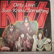 Discos de vinilo: KISS / DIRTY LIVIN / DISQUES VOGUE 1979. Lote 34848160