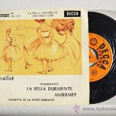 Discos de vinilo: ERNEST ANSERMET - LA BELLA DURMIENTE ORQ. SUISSE ROMANDE ¡¡NUEVO!! (DECCA EP 1962) ESPAÑA. Lote 34848197