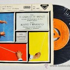 Discos de vinilo: SERIE DE OBERTURAS FAMOSAS - AUBER/BERLIOZ ¡¡NUEVO!! (DECCA EP 1960) ESPAÑA. Lote 34848233