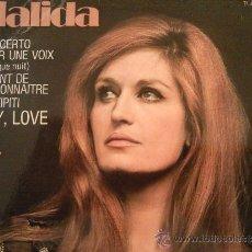 Discos de vinilo: DALIDA CONCERTO POUR UNE VOIX EP FRANCE. Lote 34851032