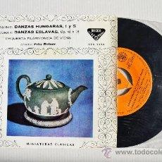Discos de vinilo: FRITZ REINER - ORQ. FIL. VIENA BRAHMS/DVORAK ¡¡NUEVO!! (DECCA EP 1961) ESPAÑA. Lote 34852064