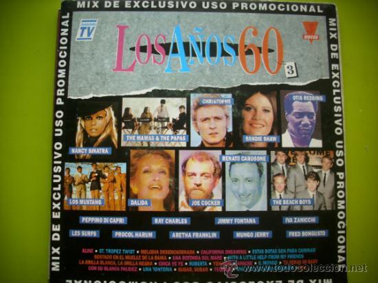 MIX LOS AÑOS 60 / SINGLE PROMO 1992 (Música - Discos - Singles Vinilo - Pop - Rock Extranjero de los 50 y 60)