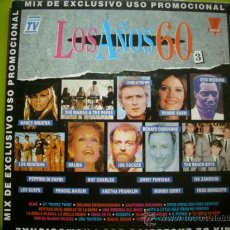 Discos de vinilo: MIX LOS AÑOS 60 / SINGLE PROMO 1992. Lote 34862849