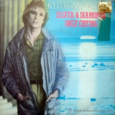 Discos de vinilo: KEITH MARSHALL. SILVER & DIAMONDS/ONLY CRYING. SINGLE 1982 MOVIEPLAY. Lote 34858853