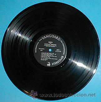 Discos de vinilo: ODETTA / Odetta sings Christmas spirituals 1960 , GOSPEL !! VANGUARD 1ª ORIG. EDIT. USA !!!! - Foto 2 - 34859965