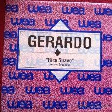 "Discos de vinil: 7"" SINGLE - GERARDO - RICO SUAVE -PROMO. Lote 34863229"