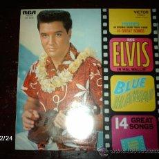 Discos de vinilo: ELVIS PRESLEY - BLUE HAWAII . Lote 34888370