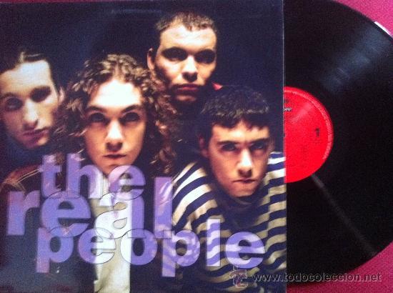 LP-THE REAL PEOPLE-THE REAL PEOPLE (Música - Discos - LP Vinilo - Grupos Españoles de los 90 a la actualidad)