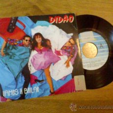 Discos de vinilo: DIDAO.. VAMOS A BAILAR..//INSTRUMENTAL,. Lote 34908674