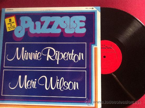 LP DOBLE-PUZZLE-MINNIE RIPERTON-COME TO MY GARDEN-MERI WILSON-FIRST TAKE (Música - Discos - LP Vinilo - Pop - Rock - Extranjero de los 70)