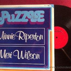 Discos de vinilo: LP DOBLE-PUZZLE-MINNIE RIPERTON-COME TO MY GARDEN-MERI WILSON-FIRST TAKE. Lote 34909367