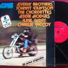 Discos de vinilo: LP DOBLE PUZZLE-LINK WRAY-EVERLY BROTHERS-JOHNNY TILLOTSON.. VARIOS 22 HITS. Lote 34909421