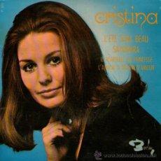 Discos de vinilo: CRISTINA - EP SINGLE VINILO 7'' - SAYONARA + 3 - EDITADO EN FRANCIA - BARCLAY. Lote 34911084