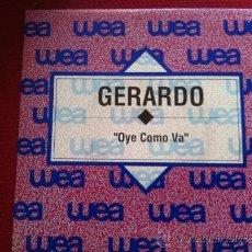 """Discos de vinil: 7"""" SINGLE - GERARDO - OYE COMO VA -PROMO. Lote 34915819"""