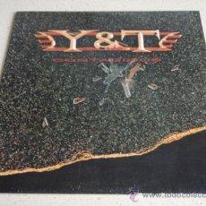 Discos de vinilo: YESTERDAY & TODAY 'Y & T' ( CONTAGIOUS ) CANADA - 1987 LP33 GEFFEN RECORDS. Lote 34916578