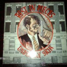 Discos de vinilo: REST IN PIECES - UNDER MY SKIN . Lote 37136048
