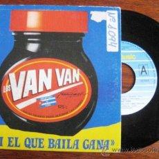 Discos de vinilo: VAN VAN. AQUI EL QUE BAILA GANA 1991. ENVIO GRATIS¡¡¡. Lote 34919303