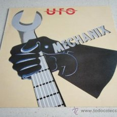 Discos de vinilo: UFO ( MECHANIX ) 1982 - SWEDEN LP33 CHRYSALIS RECORDS. Lote 34925522