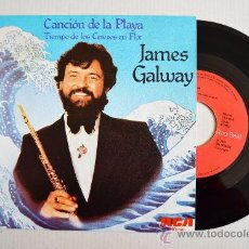 Discos de vinilo: JAMES GALWAY - CANCION DE LA PLAYA… ¡¡NUEVO!! (RCA SINGLE 1981) ESPAÑA. Lote 34936401