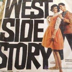 Discos de vinilo: WEST SIDE STORY POR ORQUESTA THE NEW WORLD SHOW . LP ORLADOR 1964. Lote 34619176