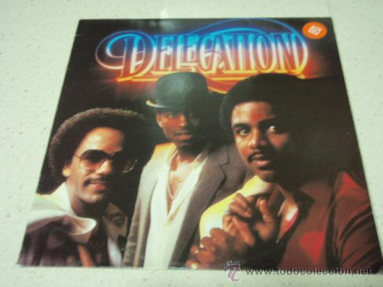DELEGATION ( DELEGATION ) HOLANDA - 1981 LP33 ARIOLA RECORDS (Música - Discos - LP Vinilo - Funk, Soul y Black Music)
