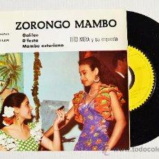 Discos de vinilo: TITO MOYA Y SU ORQUESTA - ZORONGO MAMBO ¡¡NUEVO!! (IBEROFON EP 1961) ESPAÑA. Lote 34947188