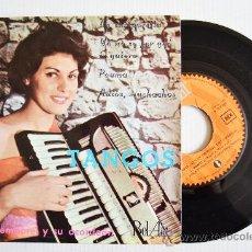 Discos de vinilo: GASTON TEMPOREL Y SU ACORDEON - TANGOS ¡¡NUEVO!! (BEL-AIR EP 1962) ESPAÑA. Lote 34947302