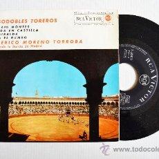 Discos de vinilo: FEDERICO MORENO TORROBA - PASODOBLES TOREROS ¡¡NUEVO!! (RCA EP 1962) ESPAÑA. Lote 34952049