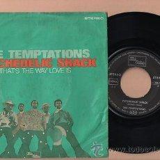 Discos de vinilo: THE TEMPTATIONS PSICHEDELIC SHACK 7 SINGLE 45 VINILO . Lote 34953383
