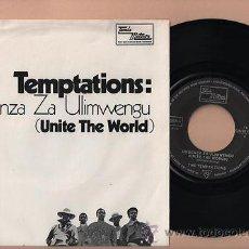 Discos de vinilo: THE TEMPTATIONS UNITE THE WORLD SINGLE 45 VINILO SINGLE . Lote 34953407