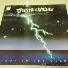 Discos de vinilo: GREAT WHITE ( SHOT IN THE DARK ) 1988 - HOLANDA LP33 CAPITOL RECORDS. Lote 197995600