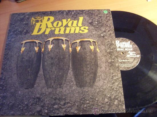 ROYAL DRUMS ( TRIBAL MAN, TRIBAL MUSIC ) MAXI FRANCIA (G-2) (Música - Discos de Vinilo - Maxi Singles - Étnicas y Músicas del Mundo)