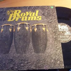 Discos de vinilo: ROYAL DRUMS ( TRIBAL MAN, TRIBAL MUSIC ) MAXI FRANCIA (EX+/NM) (VIN7). Lote 34954806