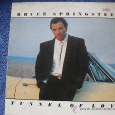 Discos de vinilo: BRUCE SPRINGNTEEN - TUNEL OF LOVE - LP - (CON LETRAS) - CBS 1987. Lote 34968277