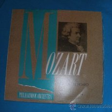 Discos de vinilo: MOZART,SINFONIA Nº 40,LAS BODAS D FIGARO.DISCO VINILO.CAJAVALLADOLID.. Lote 34954777
