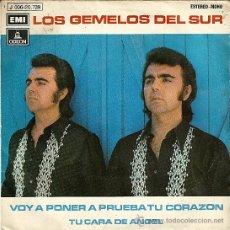 Discos de vinilo: LOS GEMELOS DEL SUR...EP45RPM. Lote 34955983