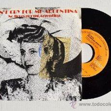 Discos de vinilo: THE ROYAL PHILHARMONIC ORCHESTRA - DON T CRY FOR ME ARGENTINA ¡¡NUEVO!! (RCA SINGLE 1976) ESPAÑA. Lote 34958161